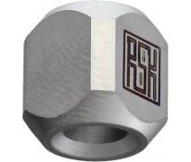 Титановая бусина на темляк Column Silver