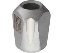 Титановая бусина на темляк Pyramid Silver