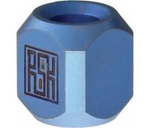 Титановая бусина на темляк Column Blue