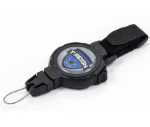 Ретрактор T-REIGN L ремень Black
