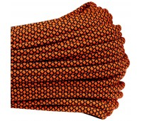 Паракорд Diamond - Neon orange/Black 550
