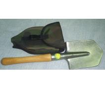 Автомобильная титановая лопата в чехле