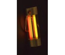 Тритиевый брелок Nite Glowring TwinGlow желтый/красный