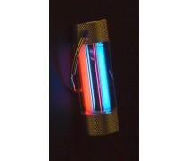 Тритиевый брелок Nite Glowring TwinGlow красный/синий