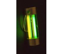 Тритиевый брелок Nite Glowring TwinGlow желтый/зеленый