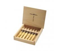Набор в деревянной коробке из 6 ножей Opinel №7 Nature