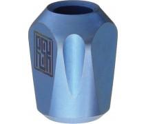 Титановая бусина на темляк Pyramid Blue