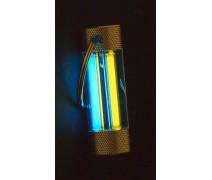 Тритиевый брелок Nite Glowring TwinGlow Желтый/Синий